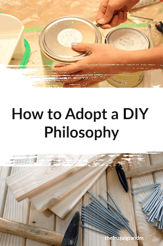 How to adopt a DIY philosophy