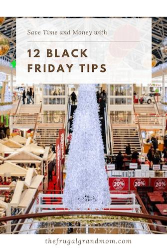 12 Black Friday Tips