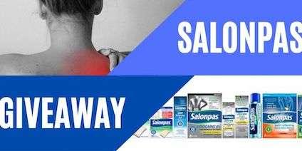 Salonpas Giveaway