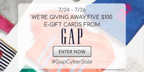 Gap Giveaway Banner