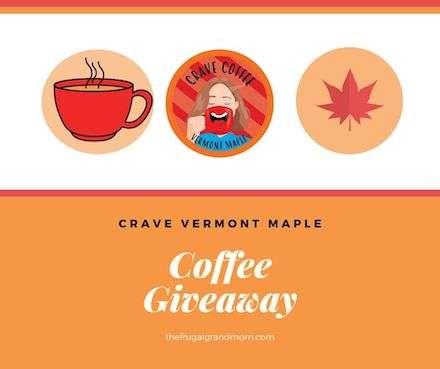 Crave Vermont Maple Giveaway