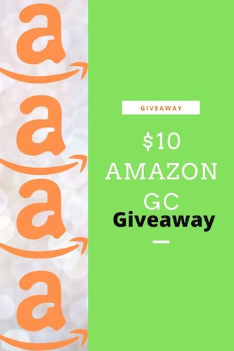 Amazon $10 GC GIveaway