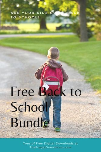 Free back to School Bundle