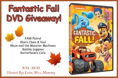 Fantastic Fall DVD Giveaway