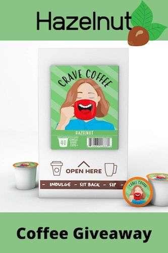 Hazelnut Coffee Giveaway