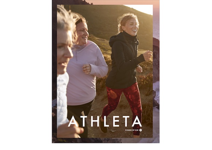 Athleta women running