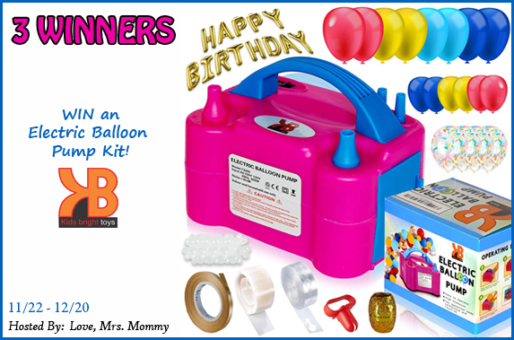 Electric Balloon Pump Kit