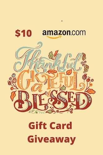 $10 Amazon Gift Card November
