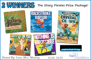 Story Pirates Prize Pack