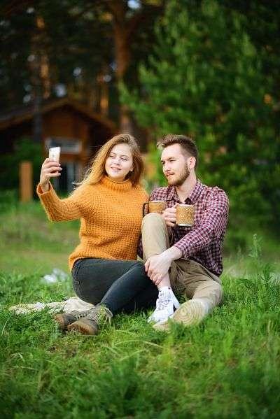 Cell Phone Camera Selfie