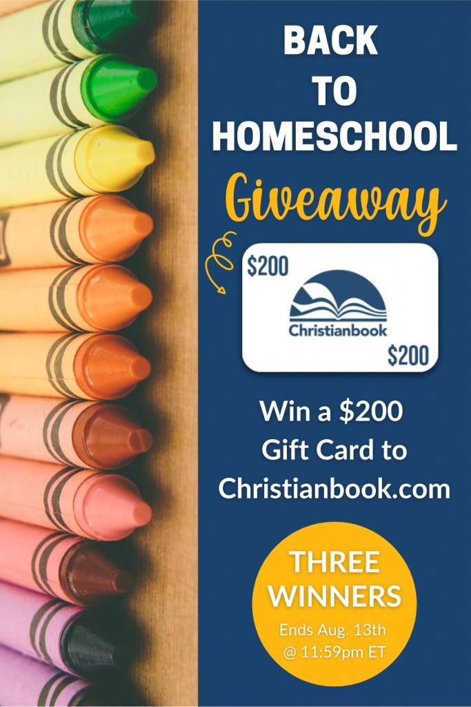 ChristianBook.com Giveaway banner