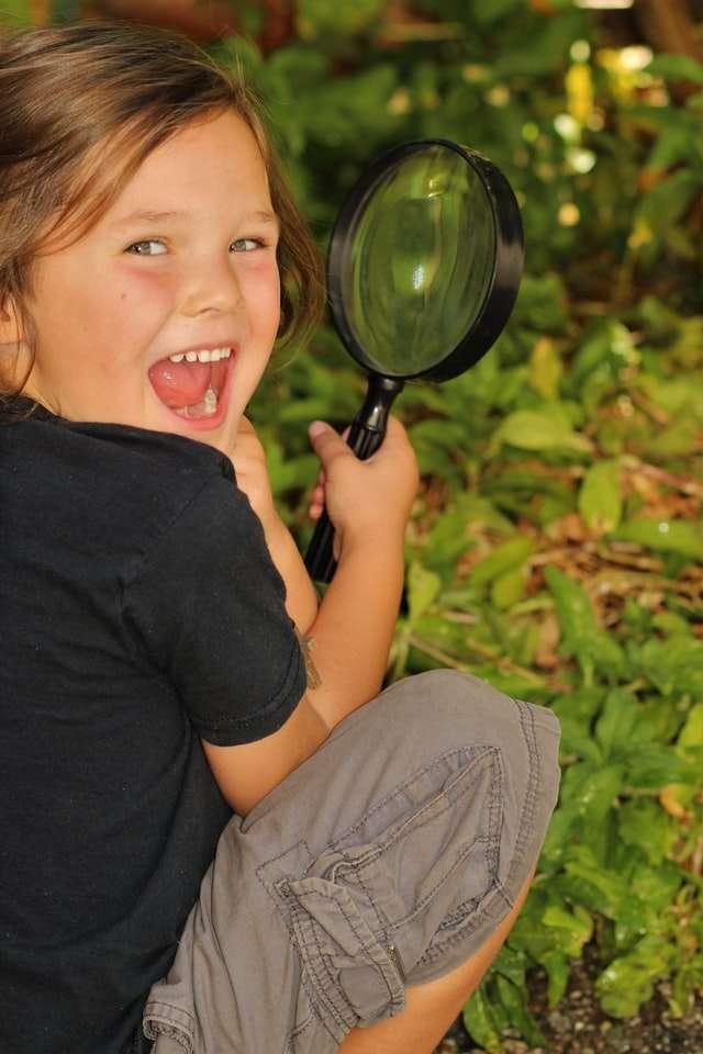 Child Exploring