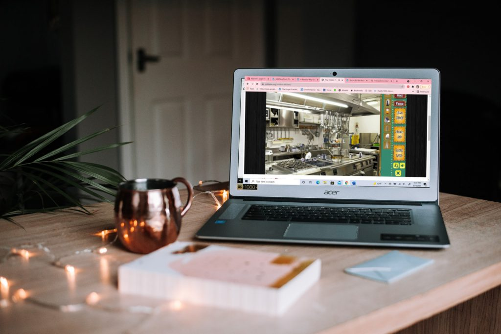 Kitchen Hidden Objects Game on laptop